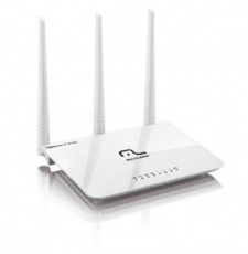 ROTEADOR MULTILASER WIRELESS 300MBPS 2.4GHZ 3 ANTENAS 5DBI