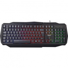 TECLADO USB GAMER (PRETO) (LUMINOSO) (BRIGHT) (0464)