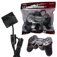 JOYPAD/CONTROLE PLAYSTATION 1/2 (12 BOTOES)(VERDE)(PS-2-S)