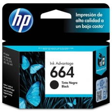 CARTUCHO HP 664 (F6V29AB) (PRETO) (ORIGINAL)
